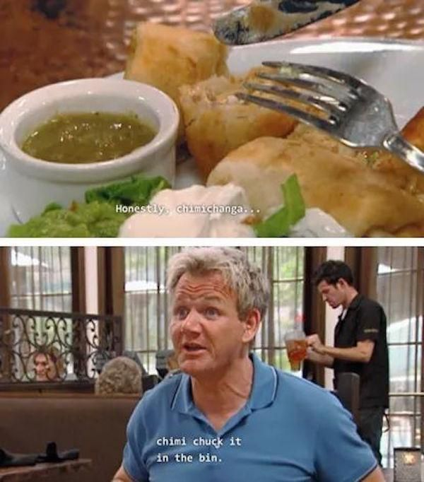 32 Hilarious Gordon Ramsay Insults - Funny Gallery