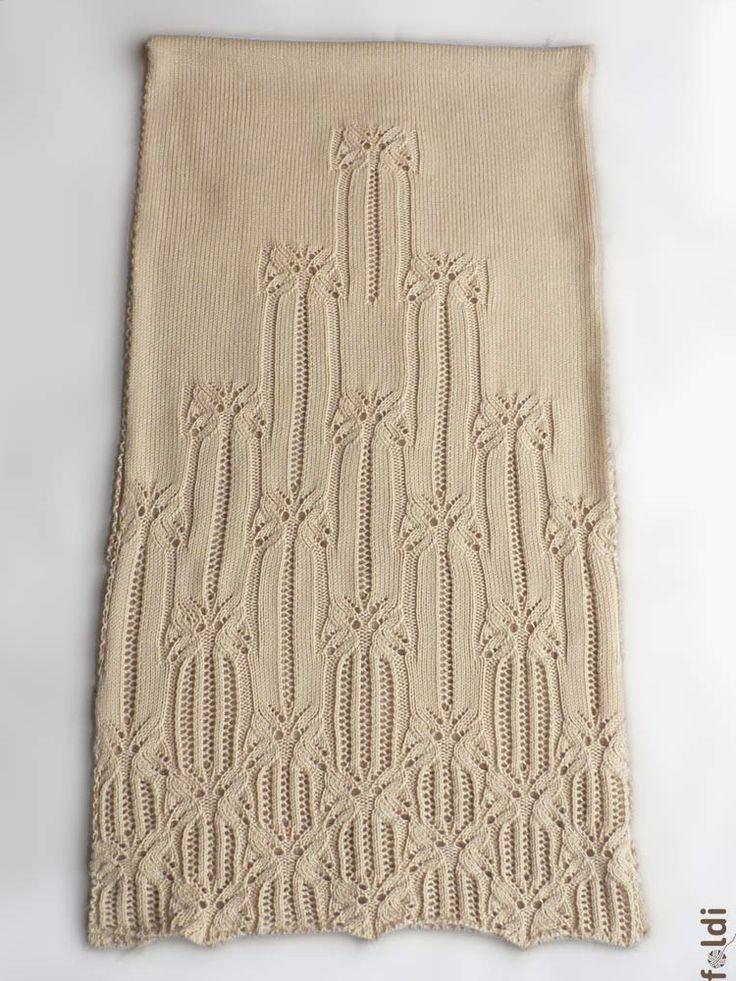 passap machine knitted butterfly lace shawl scarf