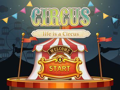 Circus Game Intro by Sun Joo 의외로 반응이 좋았지만, 프로젝트 드랍.