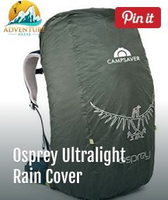 1a4c406b2a The Osprey Ultralight Raincover is rain protection for your backpack. The Ultralight  Raincover is available in three sizes