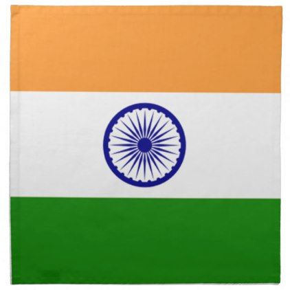 """Good color Indian flag """"Tiranga"""" Napkin - good gifts special unique customize style"""