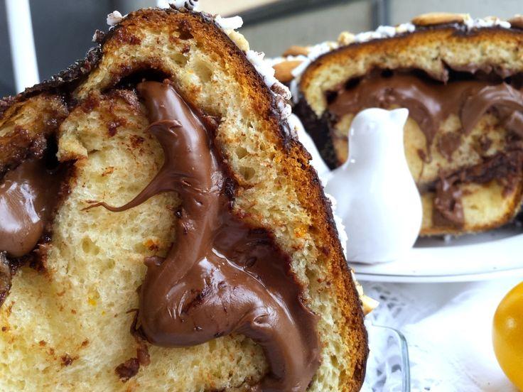 Colomba Pasquale alla Nutella (fatta in casa) | Ricette in Armonia