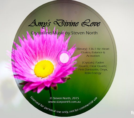 Amy's Divine Love  Crystalline Music with Binary by StarPoint9