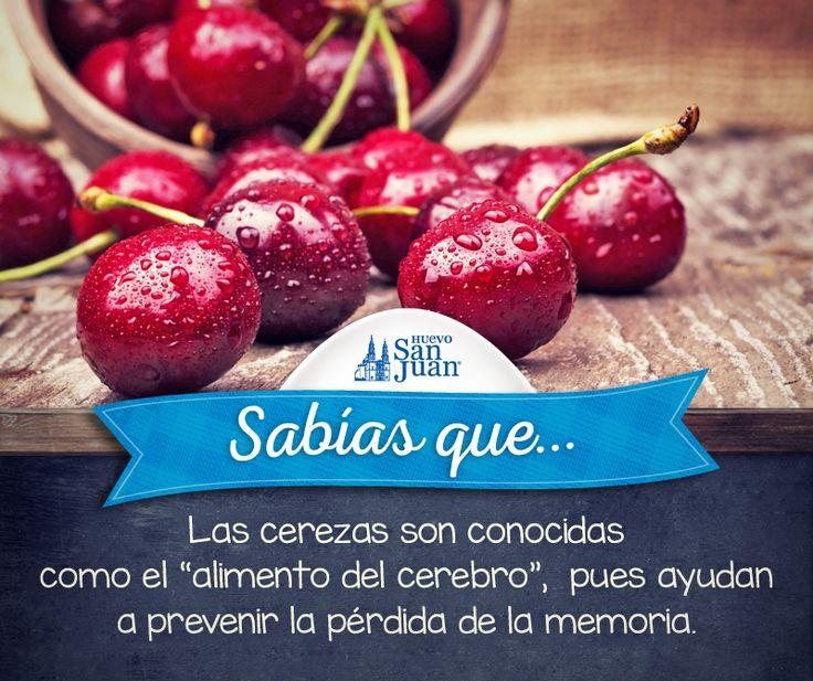 #Sabíasque #cerezas #cherry´s @HuevoSanJuanMX