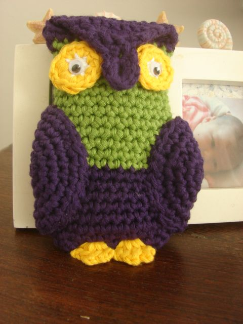 owl cellphone pouch