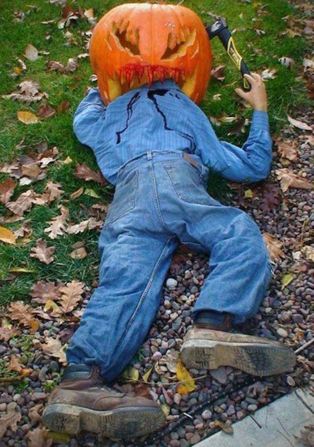 Halloween 14 Idees Deco Pour Faire Peur Halloween Deko Garten Spukhaus Ideen Halloween Deko