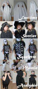 """5 idées de costume """"dernière minute"""" pour Halloween (DIY faciles en vidéo!) - Allo Maman Dodo"""