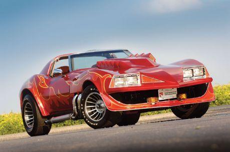 The Custom Corvette Stingray seen in  Corvette Summer, 1978. The movie starred Mark Hamill (Luke Skywalker).