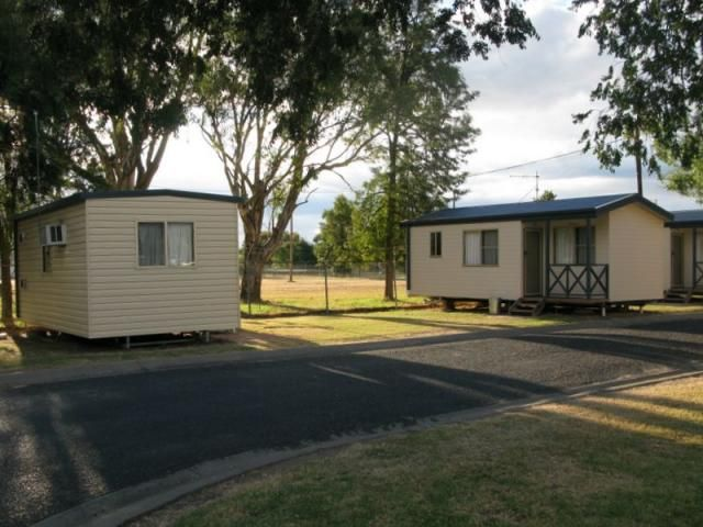 Warialda Council Caravan Park NSW. Well maintained and a pleasant place to stay.