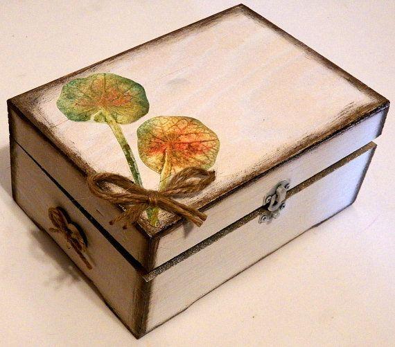 Las 25 mejores ideas sobre caja de joyas en pinterest y - Caja de luz de madera ...