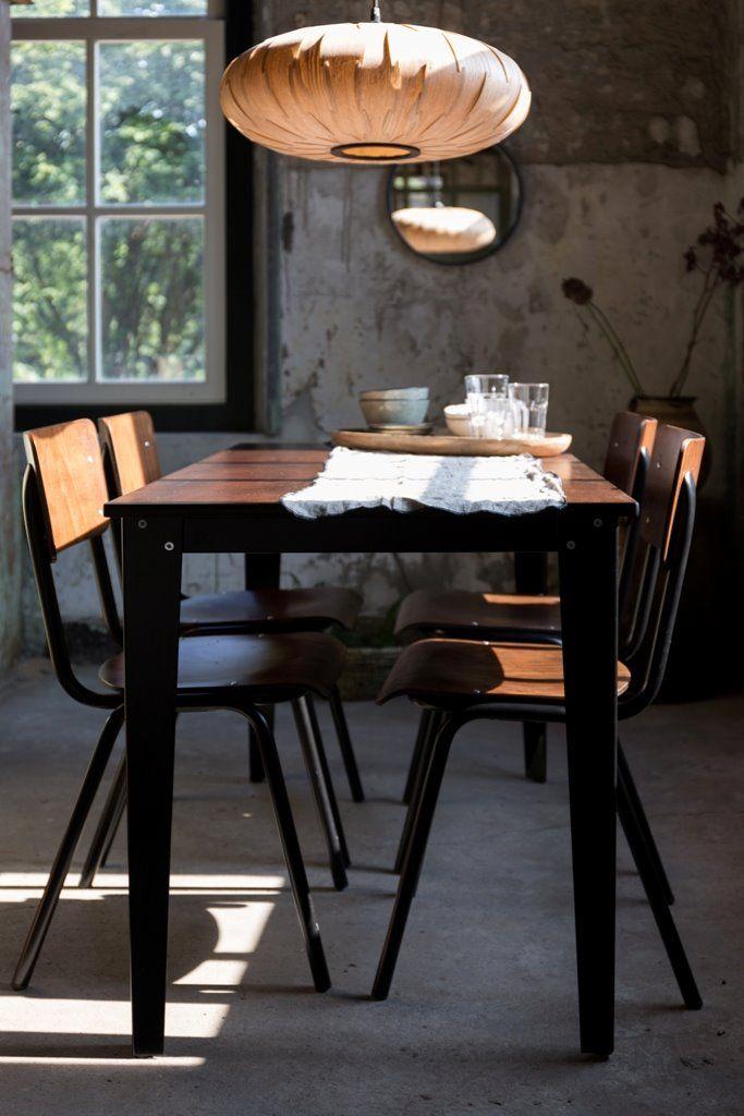 Dutchbone Lampa Wisząca Bond Owal 5300051 : Lampy wiszące drewniane : Sklep internetowy Elektromag Lighting #vintage