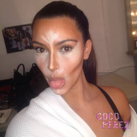 """see people wishing to look like someone like kim kardashian, its a false image..LOTS of work and makeup goes into making her """"perfect"""""""