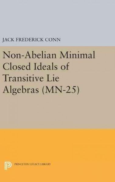 Non-abelian Minimal Closed Ideals of Transitive Lie Algebras