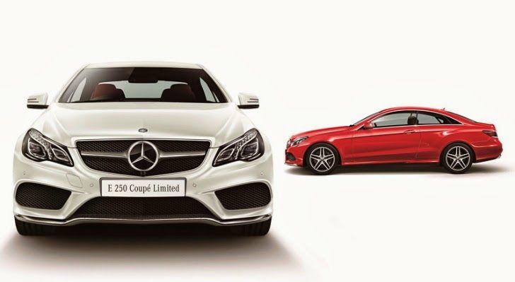 Mercedes Classe E: Japão Recebe Mercedes-Benz Classe E250 Coupé Limit...