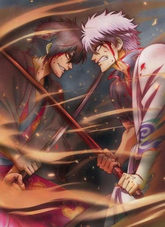 Gintama, Shinsuke, Gintoki