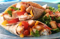 Chicken, Pesto & Guacamole Wrap: