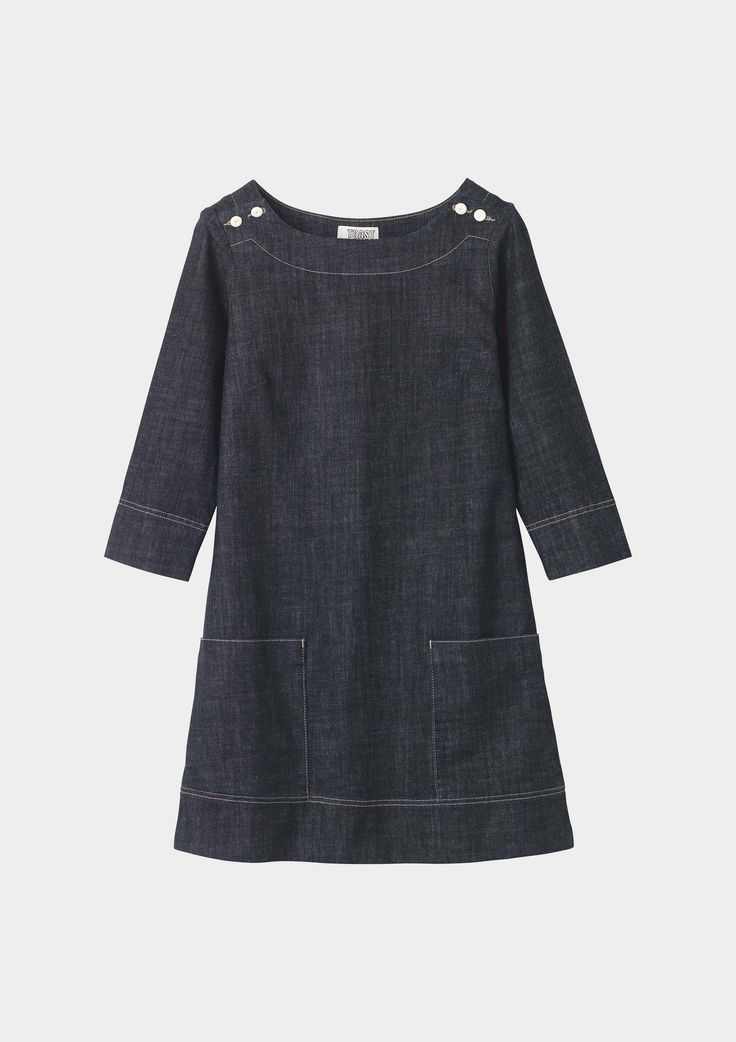 BRIGITTE TUNIC by TOAST. I need this dress.
