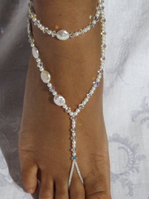 Bridal Jewelry Barefoot Sandles Destination by SubtleExpressions, $70.00