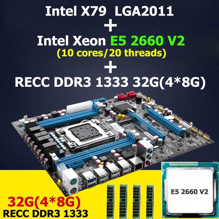 <b>HUANAN X79 motherboard CPU RAM</b> combos LGA 2011 Intel Xeon ...