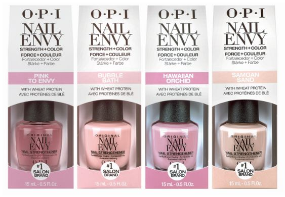 OPI Nail Envy is now available in 4 iconic OPI SoftShades. | ChitChatNails