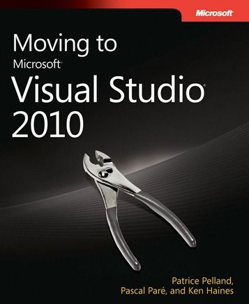 Moving to Visual Studio 2010 (from earlier versions) free ebook http://www.evincedev.com/asp-net-development