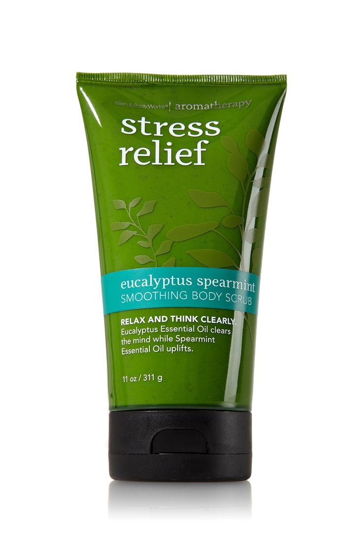 Favorite Stress Relief - Eucalyptus Spearmint Smoothing Body Scrub - Aromatherapy - Bath & Body Works - $13.00
