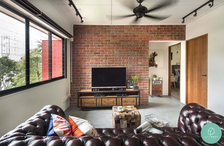 Awesome 10 Beautiful Home Renovations Under $50,000 | Brick Feature Wall, Flat  Ideas And Bricks