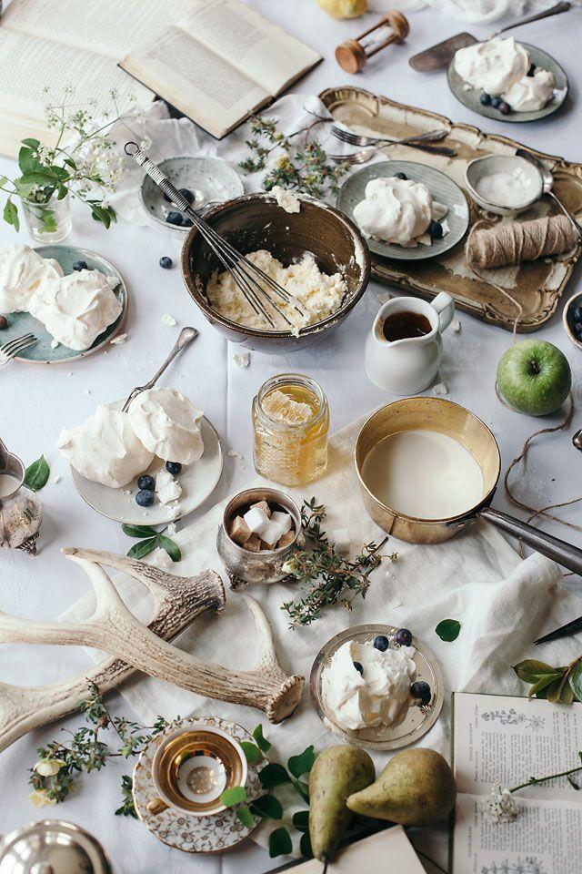 Beautiful, busy, food photography. English storytelling.
