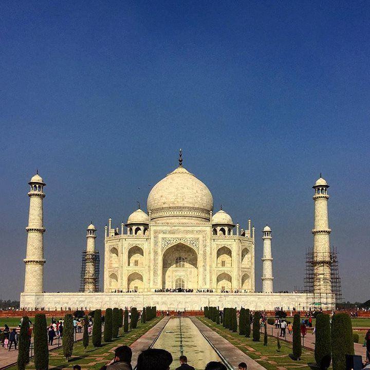 #mytajmemory #2 в моем списке обязательных мест для посещения #tadjmahal #agra #india #asia #travel by darth_eugenius #IncredibleIndia #tajmahal