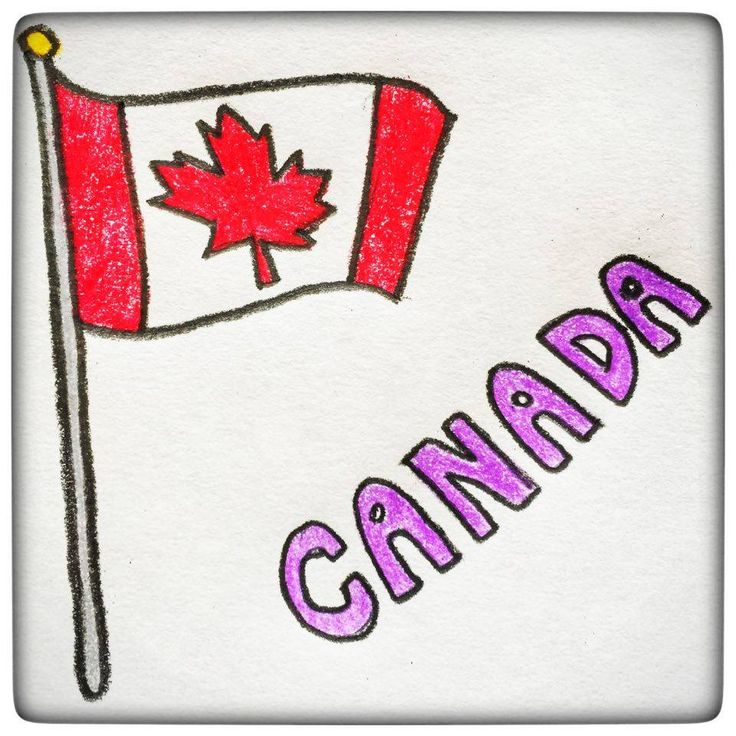 Well of course, Canada's flag has a maple leaf in the center :) Which is actually expected, as the maple leaf is the Canadian emblem since the 18th century! It is also the country's symbol and has been used on Quebec and Ontario's coat of arms. Maple leaf and maple syrup is actually everywhere in Canada :)
