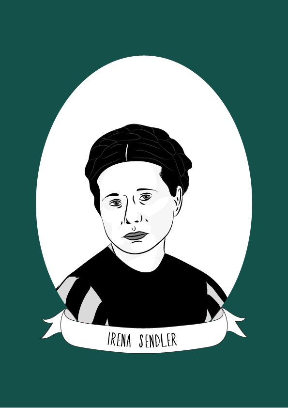 Irena Sendler (or Irena Sendlerowa in Poland) was a Polish nurse and social worker. She served in the Polish underground (Polish resistance movement) during WWII and was head of the childrens section of Żegota, a clandestine Polish rescue organisation.
