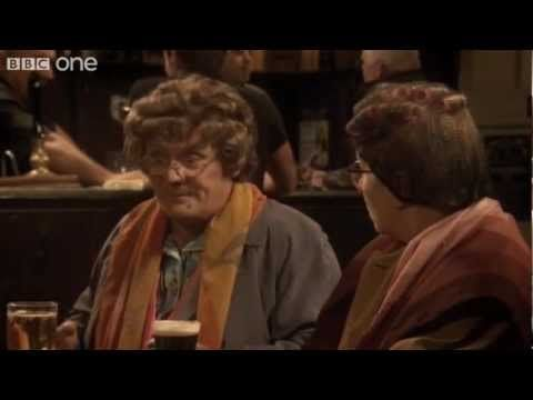Mrs Brown's Boys -Winnie's 'Organism'.  If you have never watched an episode of Mrs Brown then prepare to laugh out loud. I love this show so much!