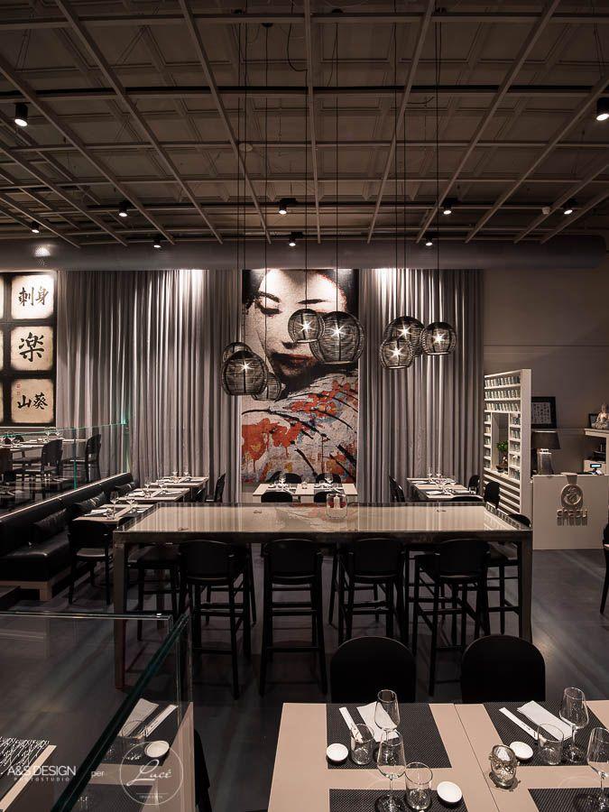Luce torino illuminazione ristorante giapponese shabu - La cucineria roma ...