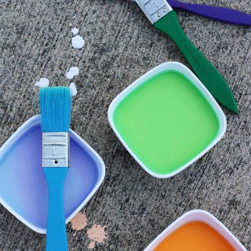 Summer crafts: How to make your own sidewalk-chalk paint for kids