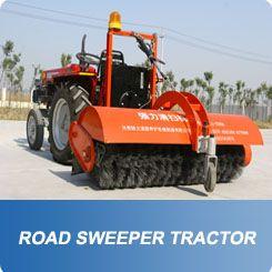 YIHONG Road Sweeper Tractor