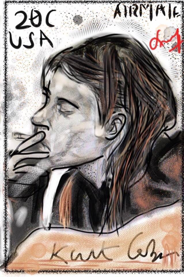 Heavier Than Heaven-Kurt Cobain  Created by -Anup D.