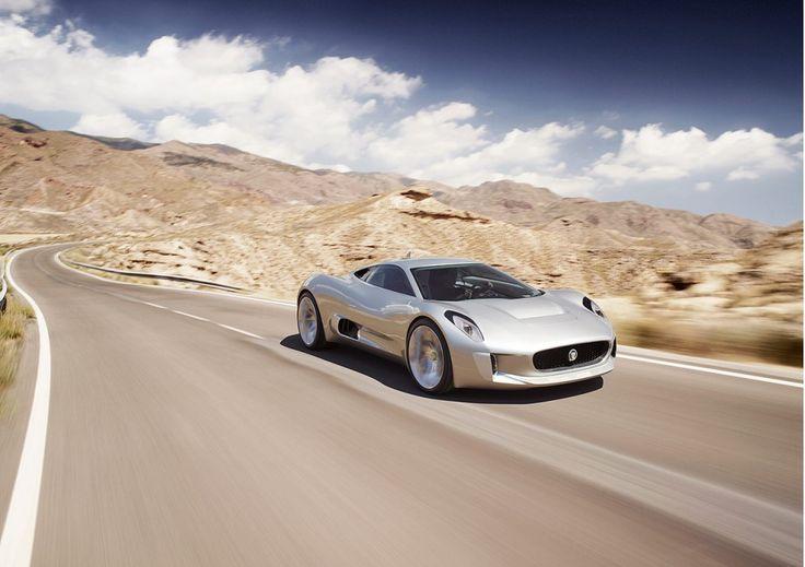 Jaguar Revisits Stillborn C-X75 Supercar: Video from motorauthority.com