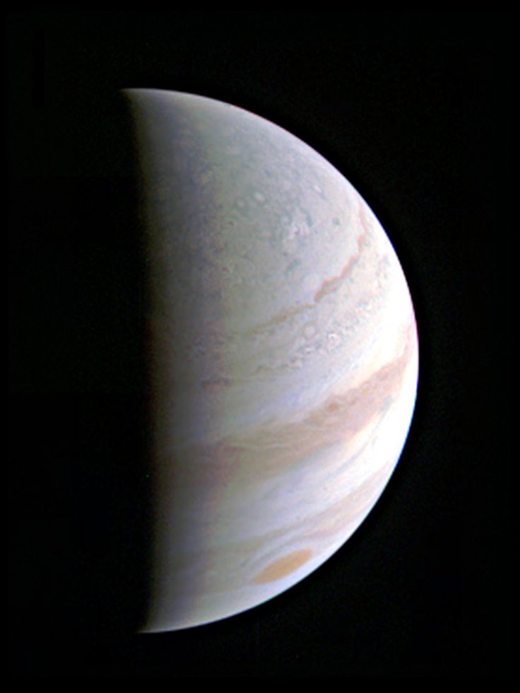 Jupiter's north polar region is coming into view as NASA's Juno spacecraft approaches the giant planet. This view of Jupiter was taken on August 27, when Juno was 437,000 miles (703,000 kilometers) away. Credits: NASA/JPL-Caltech/SwRI/MSSS