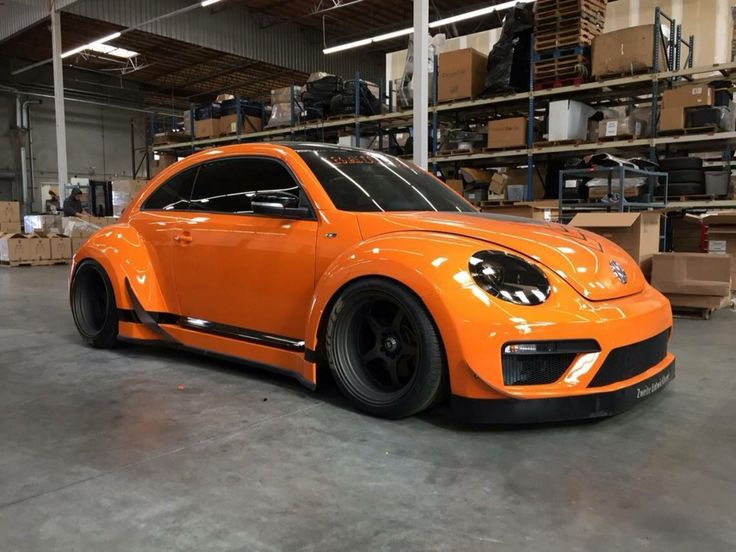 ORANGE TURBO BEETLE
