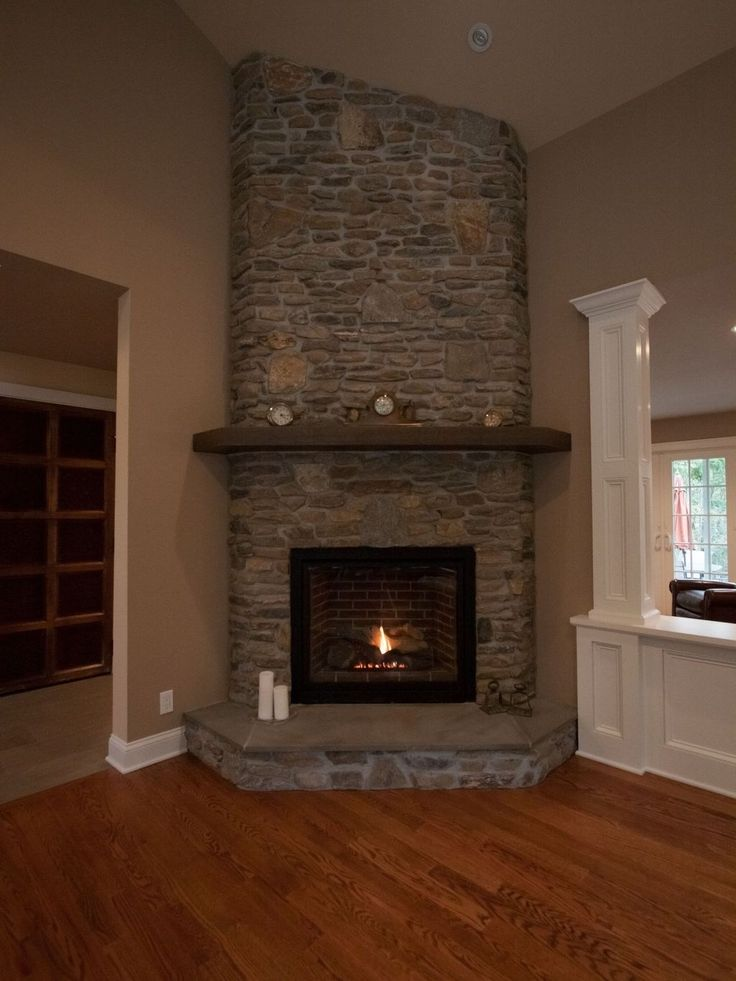 The Best Corner Fireplace Ideas For Your Living Room 51 in ...
