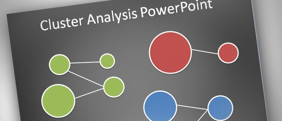 How to make a simple Cluster Analysis Diagram in PowerPoint 2010 #Presentation #Tips #Free Articles