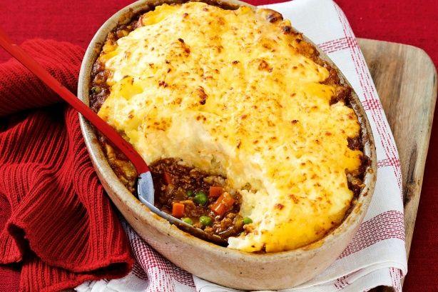 Italian cottage pie with cauliflower cheese mash main image
