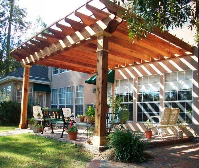 outdoor pergola gazebo patio ideas 41 best Attached Pergola / Gazebos images on Pinterest