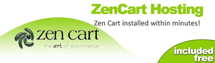 ZenCart hosting - the art of #ecommerce