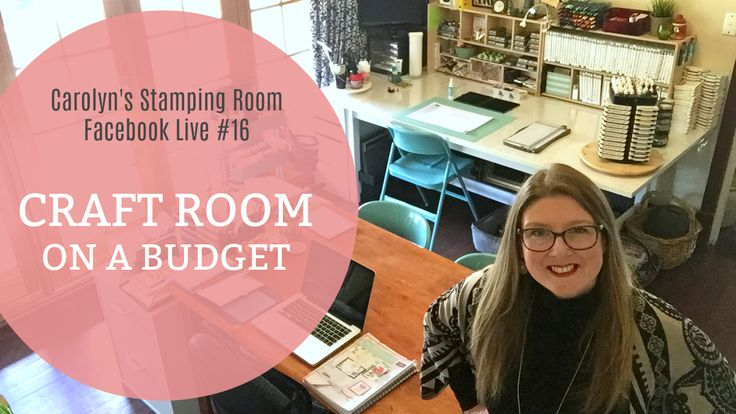 Have you looked at the amazing craft rooms online and thought - I wish BUT that's just not in my budget!? Me too.  Over the years I've been able to pull together a lovely, practical and functional craft room on a shoestring budget.  Join me on my Craft Room Tour today as I show you around and give lots of hints and tips on all things, stamping, craft organisation and craft room ideas. Visit my blog carolynbennie.com