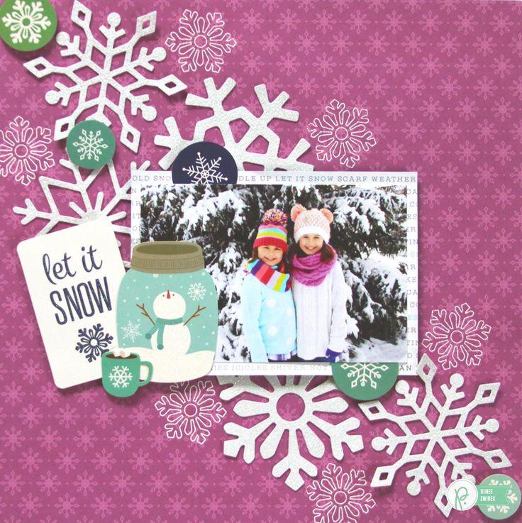 Let It Snow *Pebbles* - Scrapbook.com