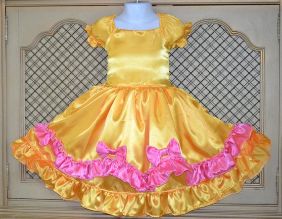 Fancy  Full CostumePrincess Bellea girls size by SweetPeaBlossoms, $69.00