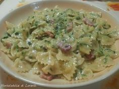 Farfalle alla carbonara di zucchine.. un piatto di pasta molto semplice, veloce e gustoso. Adatto a quando non si ha molto tempo o voglia di stare ai fornelli.