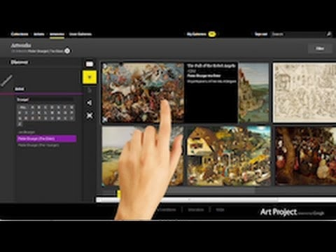 Agora há mais de 150 museus no Google Art Project, incluindo 2 brasileiros.