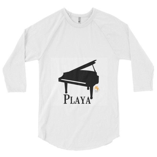 Playa Fly Tots piano playa 3/4 sleeve raglan shirt